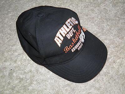 GYMBOREE SLAM DUNK BLACK ATHLETIC DEPT BASEBALL CAP HAT 3 4 5 7 NWT