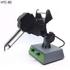 220V Lead-free Auto Tin Feeding Soldering Machine Temperature Adjustable HCT-80