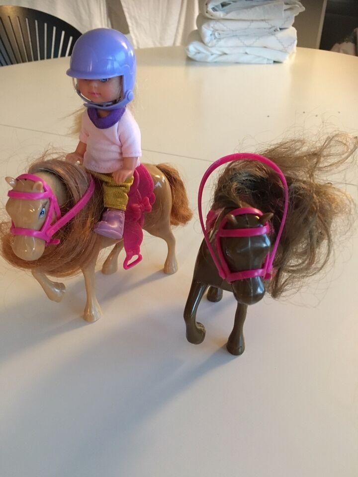 Andet legetøj, 2 Heste og lille dukke
