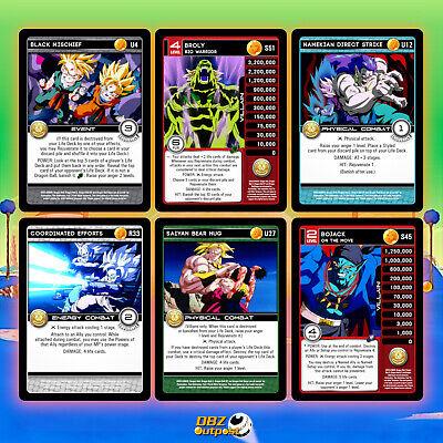 Uncommon Play Set Panini DBZ TCG Movie Collection Dragon Ball Z Common