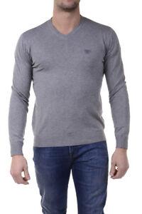 Maglia Maglietta Armani Jeans AJ Sweater Pullover Uomo Grigio 6X6MA46M0IZ  3900   eBay