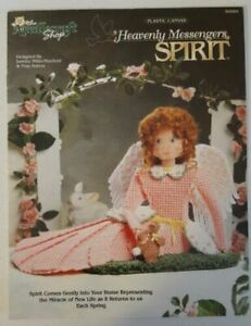 Grace Heavenly Messengers Angel Doll Plastic Canvas PATTERN//INSTRUCTIONS