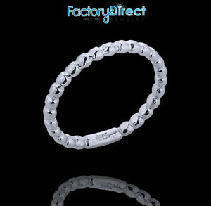 Sterling Silver Ball Chain Bead Toe Ring Summer Beach Foot