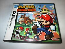 Mario vs. Donkey Kong 2 March of the Minis Nintendo DS Lite w/Case (No Manual)