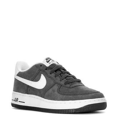 Nike Air Force 1 Low Nubuck (GS) Anthracite/White Sz 4-7 New In ...