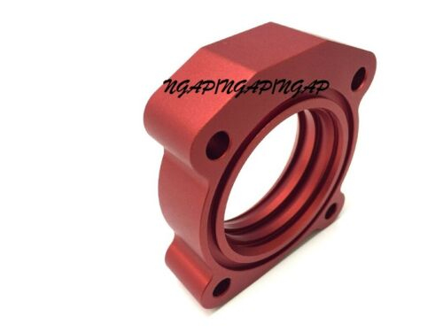 Red Billet Aluminum Vortex Flow Throttle Body Spacer For 03-09 Toyota CAMRY 2.4L