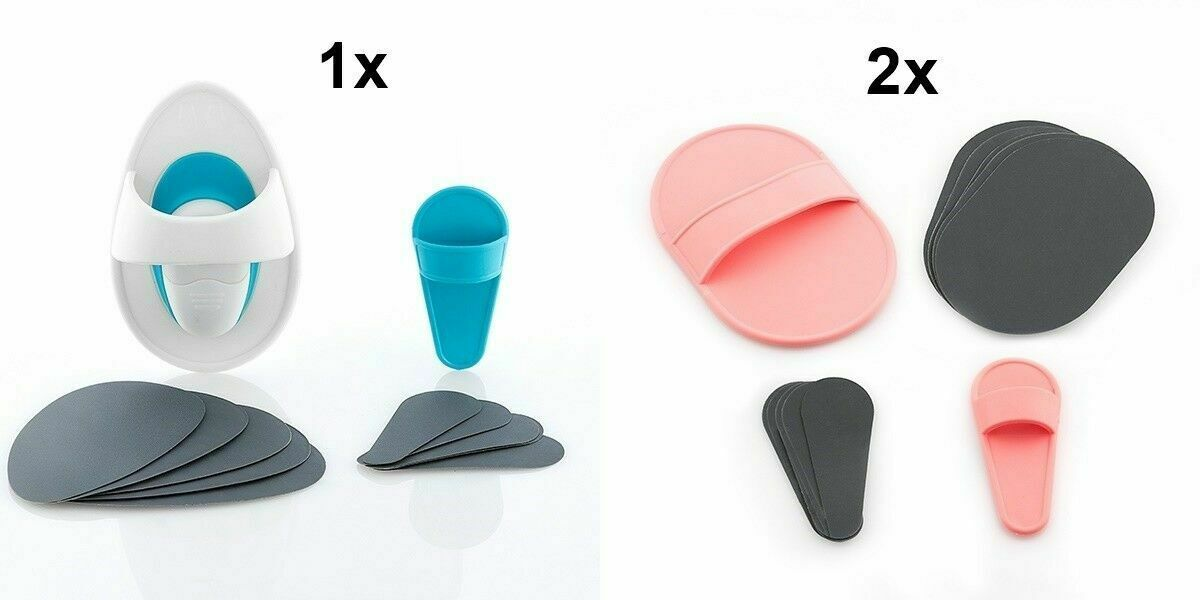 3 er Set 2x Depil Peeling Pads + 1x Depil Pads Motion Vibration Enthaarungspads
