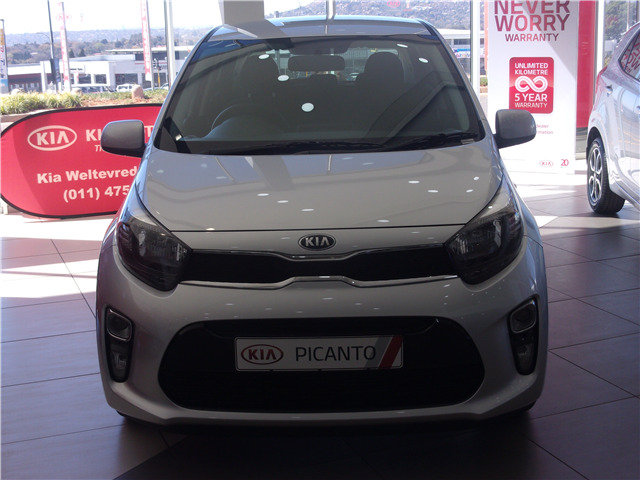 Metallic Sparkling Silv Kia Picanto 1.0 Style AT with 50km available now!