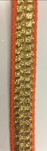 Ribbon-Trim-Strap-Sewing-Dress-Bag-Bridal-Decor-1-5-cm-wide-orange