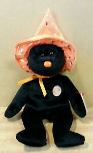Pocus ~ Halloween Ty Beanie Baby~Beanie of the Month Ty Store Exclusive ~ New