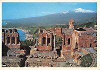 BT1391 taormina teatro greco e panorama italy
