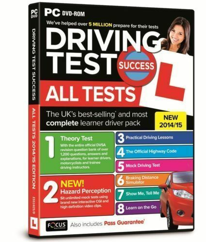 1 of 1 - Driving Test Success All Tests: 2015 by Focus Multimedia Ltd (DVD-ROM, 2014)