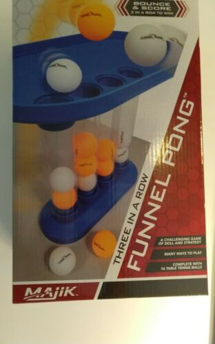 Funnel Pong Game A Challenging Game of Skill Gift Scouts Present Party BrandNew