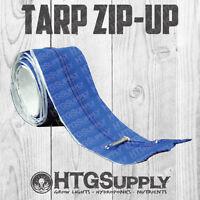 Zipper Door Tarp Zip Up Instant Hydroponics Grow Tent