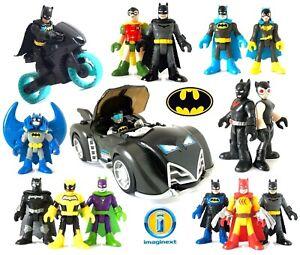 Loose *Please Select* IMAGINEXT DC Super Friends Heroes /& Villains Used Figures
