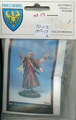 Accurato Friul Model Mp17 Grenadine Quadi Late 14th C - Metal Figure Kit - 54mm 1:32 Ad Ogni Costo
