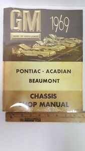1969-PONTIAC-Models-Reproduction-Shop-Manual-Shrink-Wrapped-New-CDN