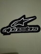 Aufnäher Aufbügler Patch alpinestars Motorrad Motorsport Autocross Biker Kutte