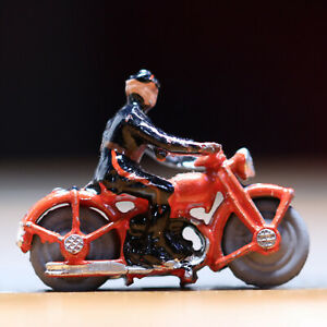 Vintage-Metal-Toy-Miniature-Police-Motorcycle-1-25-034