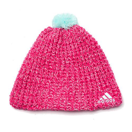 Adidas Climaheat - Berretto di Lana a Maglia Rosa (pink Buzz S10 frost  f4b2d8dac2c9