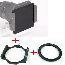 Haida 100mm Square ND3.0 Neutral Density Grey Filter 1000x +Holder +77mm Adapter