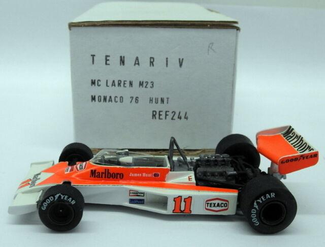 McLaren M23 Transkit Hutze 1976 1//12 James Hunt Jochen Mass