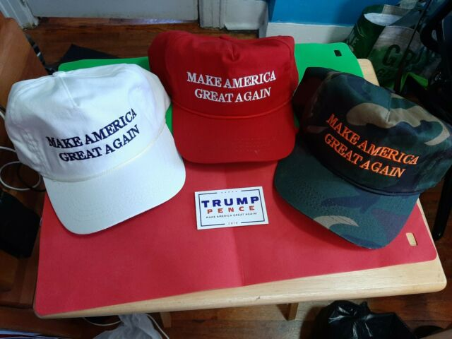 AUTHENTIC original Cali Fame Donald Trump  MAGA PACKAGE CAP 2 Official stickers