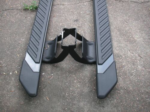 """2015-2018 F-150 CREW CAB FACT OEM STEP BARS 5/"""" FACTORY PAINTED"""