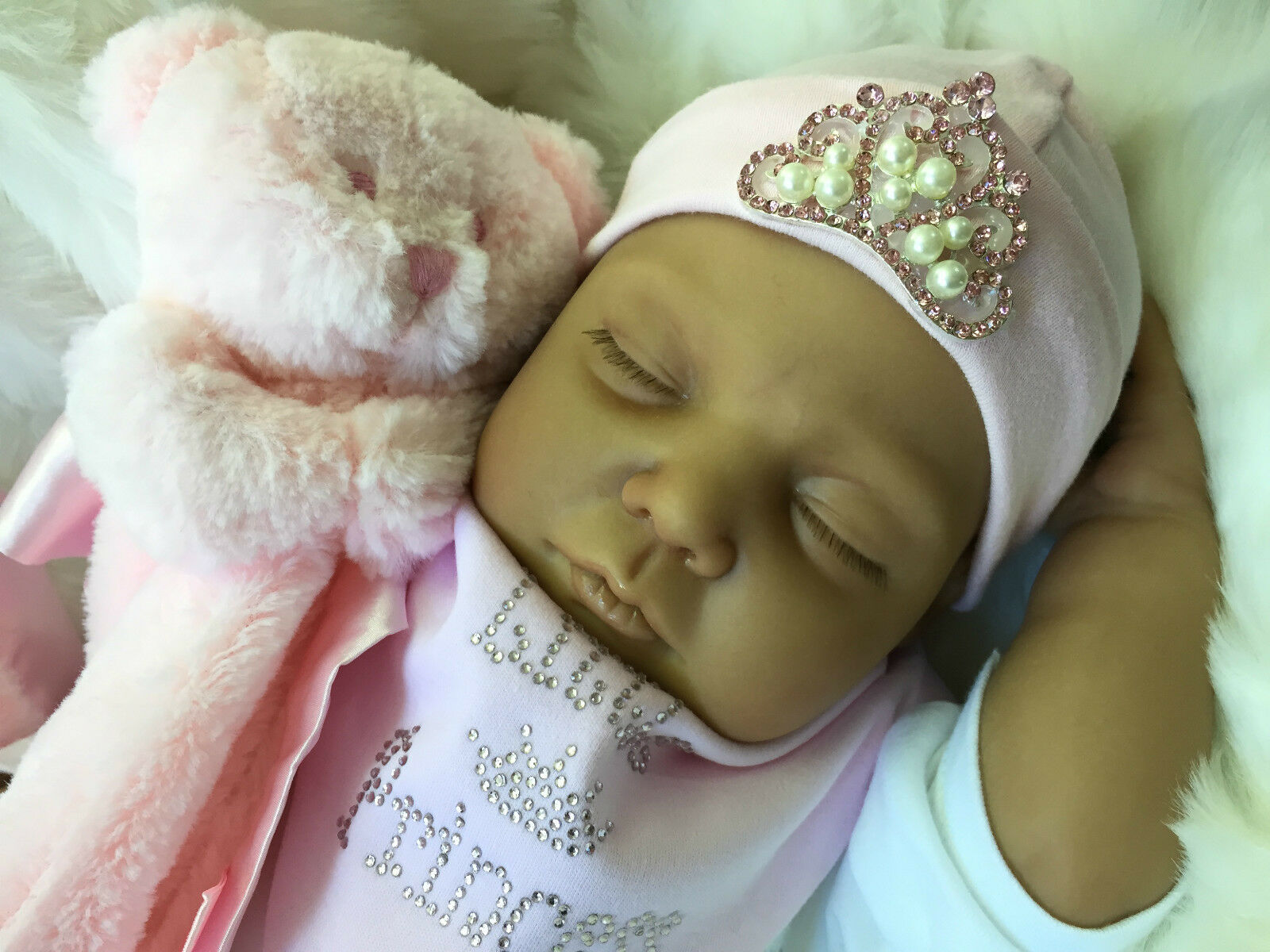ETHNIC MIXED RACE ASIAN REBORN DOLL LIVVY BABY GIRL REALISTIC REALISTIC REALISTIC REAL LIFE DOLL 6db204