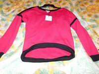 Bisou Bisou, Nwt, Size Xs, Red Shirt, So Cute, Great Cut