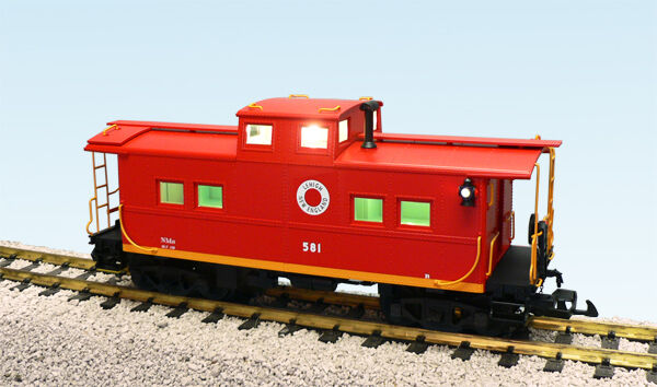 USA Trains 12162 G Scale Center Cupola Caboose Lehigh Nuovo England