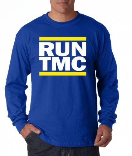 "Golden State Warriors /""RUN TMC/"" Stephen Curry HOODED SWEATSHIRT Chris Mullin"