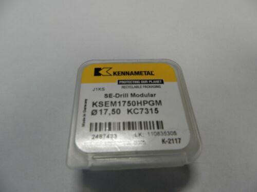 1 pcs  Kennametal KSEM1750HPGM D17,50mm KC7315 NEW