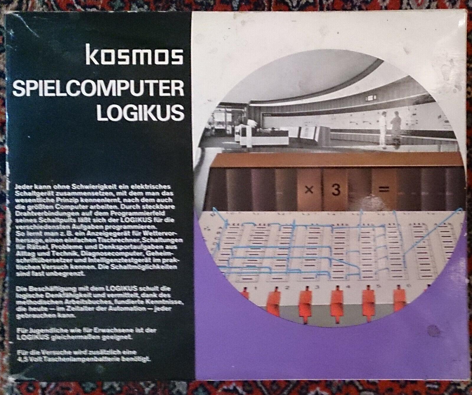 Kosmus Kosmus Kosmus Spielcomputer Logikus - altes Original 850bcc