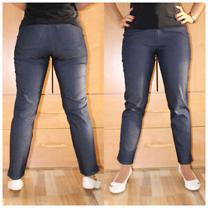 Denim Jeans Gr. 17 (34 kurz) Stretchjeans blau Pumphose (#2239)