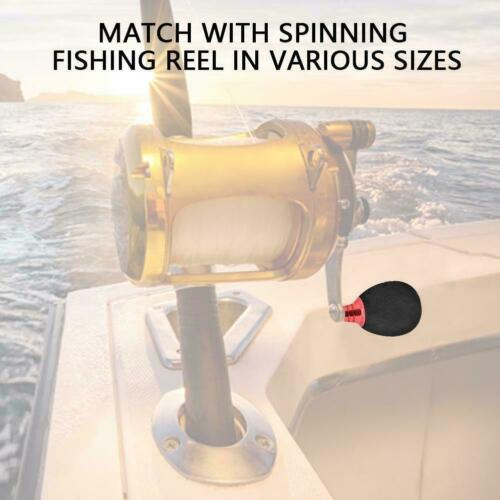 Metal Fishing Reel Handle Power Knob For Casting Spinning Reels FA Durable EVA