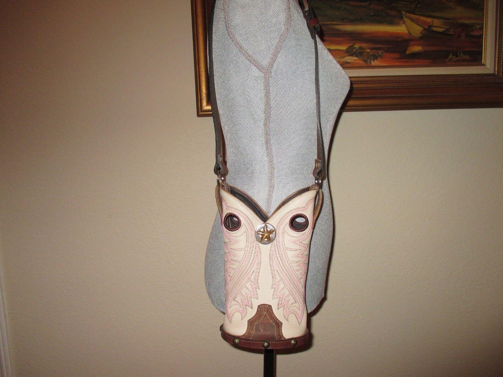 WESTERN LEATHER COWBOY  RIDE  BAG