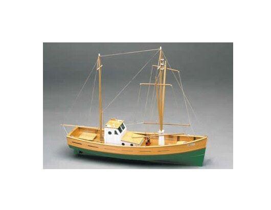 Mantua Amalfi. Mediterranean Fishing Boat 1 35 (702) Static Model Boat Kit