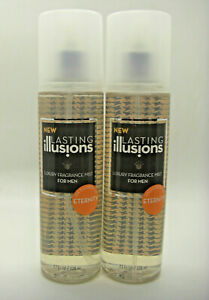 NEW-SET-OF-2-LASTING-ILLUSIONS-ETERNITY-FOR-MEN-LUXURY-FRAGRANCE-MIST-RARE