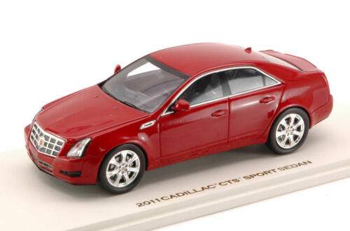 Cadillac CTS Sport Sedan 2011 Crystal Red 1:43 Model 10099 LUXURY
