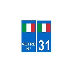 Algérie numéro choix autocollant plaque droits