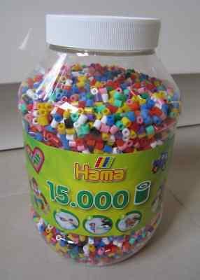 Hama Perlen Bunt Verschiedene Farben Blau Rot Neu Ovp Offensichtlicher Effekt 15.000 Bügelperlen