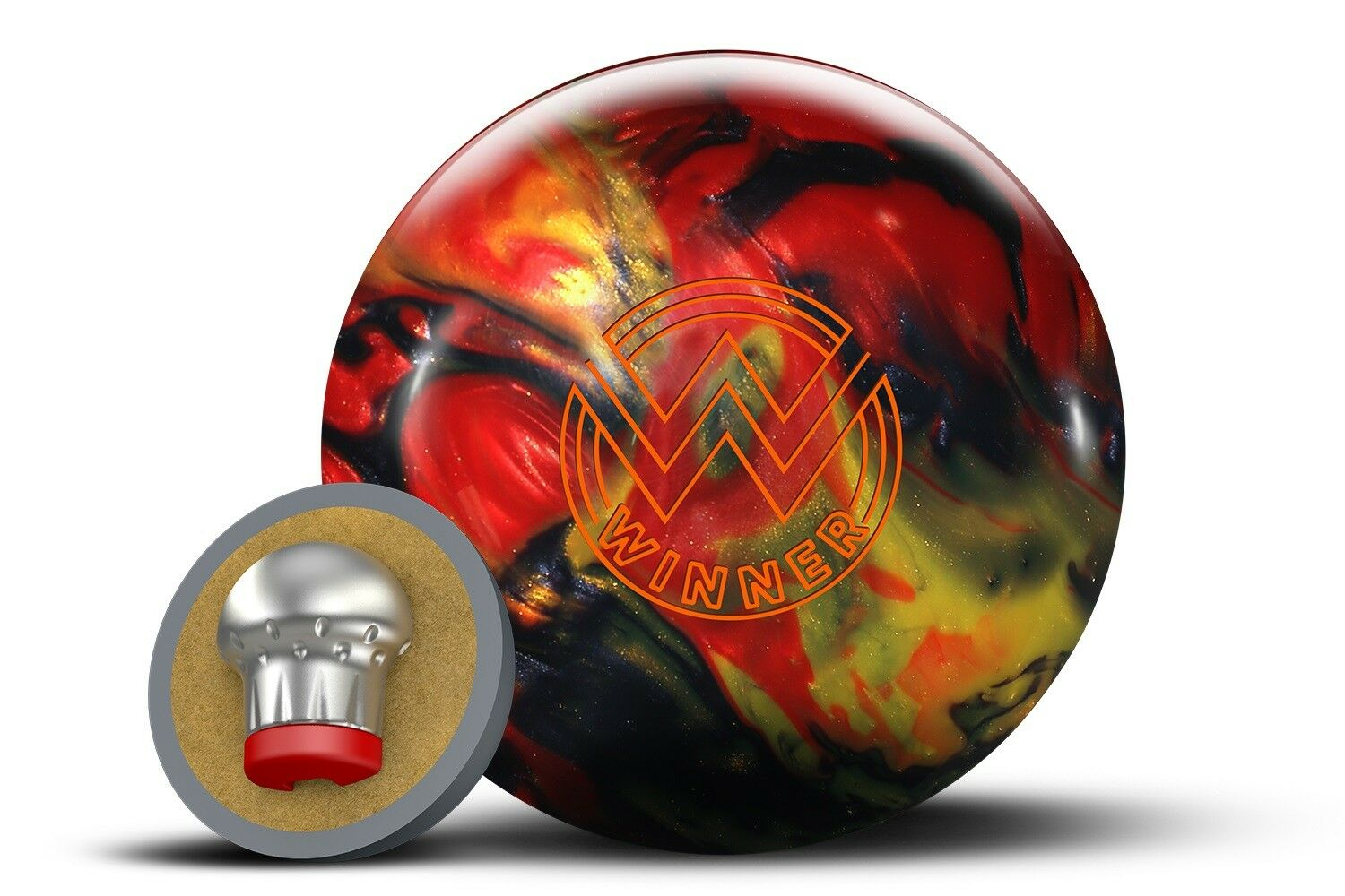 15lb redo Grip WINNER Pearl Reactive Bowling Ball