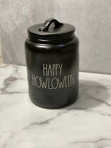 Rae Dunn Artisan Collection By Magenta 2020 Happy Howloween Black Canister New