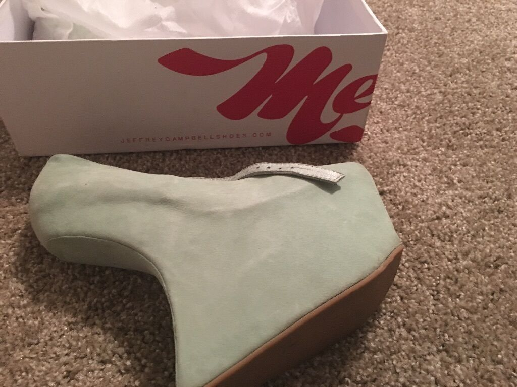 Mint green Jeffery Jeffery Jeffery Campbell woman Night Walkers 0bb99e