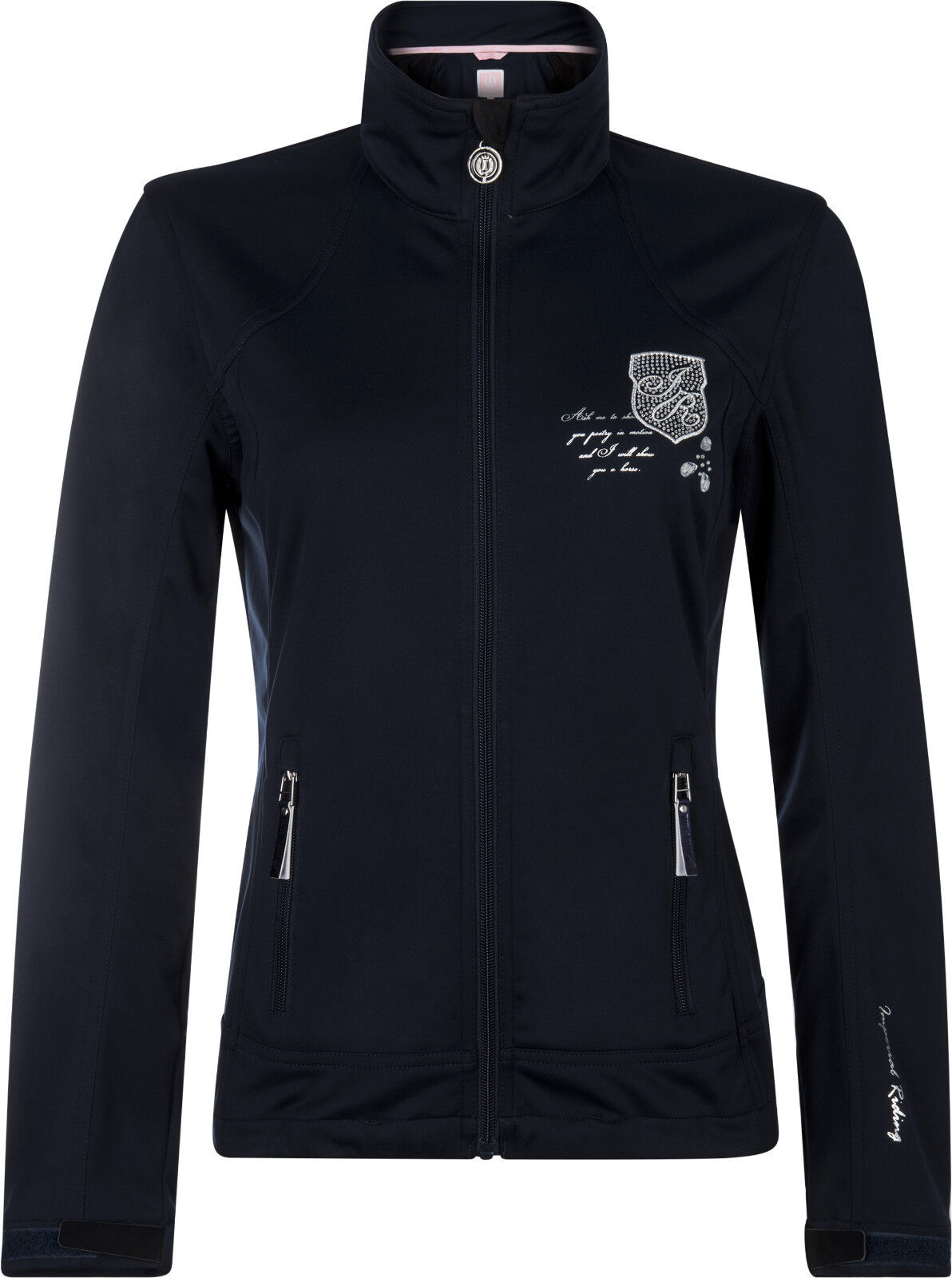 Imperial Riding Softshell-chaqueta Oracle Navy xs-xl bordados pedrería Prints