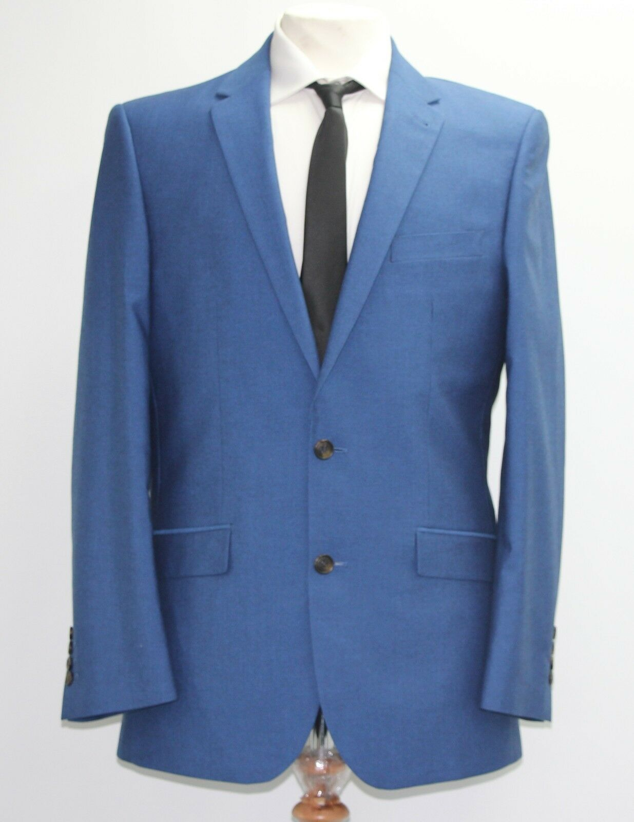 Men's 2pc bluee suit (40R)... sample 1489