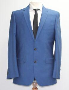 .. Men's 2pc Blue Suit 40r Sample 1489