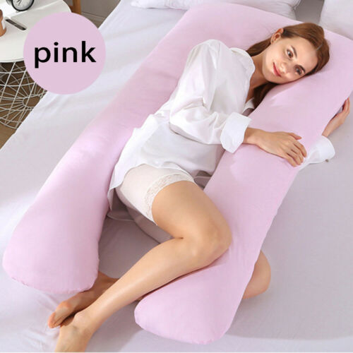 1PC Cotton U-Shape Pregnant Women Body Pillowcase Sleeping Support Home /& Living