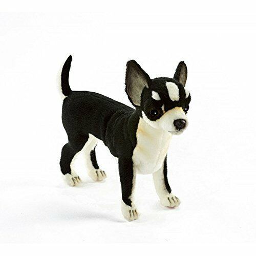 Hansa Chihuahua Plush Black White 2day Delivery Ebay
